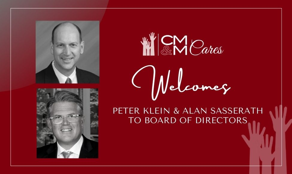 tCMM Cares Welcomes Klein and Sasserath to Board of Directors