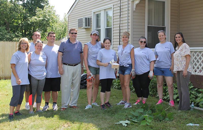 CMM volunteers for veterans