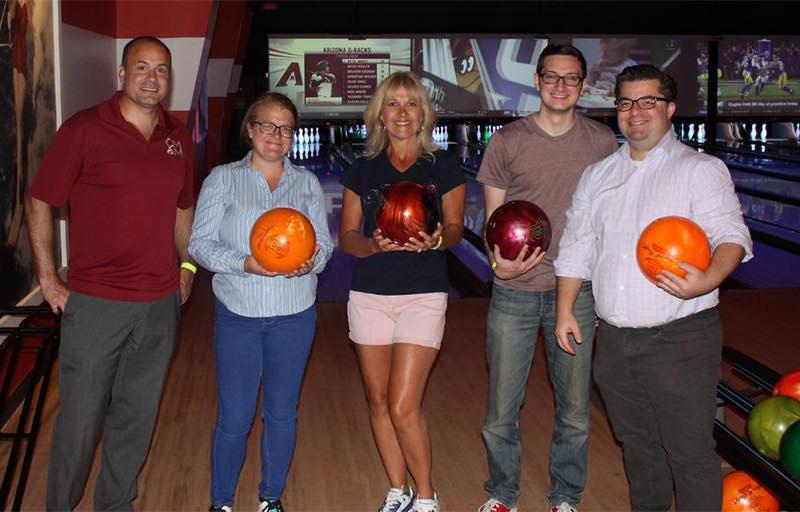 Bowling fund raiser